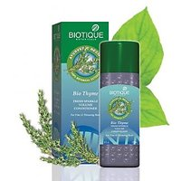 BIO THYME FRESH SPARKLE VOLUME CONDITIONER For Fine & Thinning Hair 210 ML