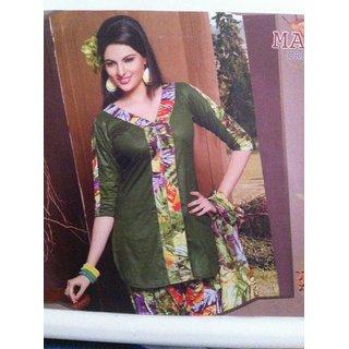 Mayuri Cotton Printed Dress Material - 4717226