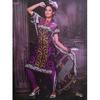 Mayuri Cotton Printed Dress Material - 4717278