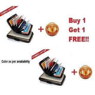 Pack of 2 Badges + 2 Free Aluma Wallets
