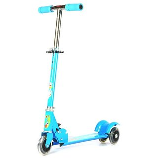 3 Wheels Kids Scooter Foldable available at ShopClues for Rs.599