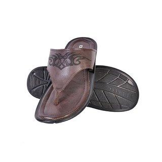 Crowcia Brown Casual Slippers - CR025SBRN