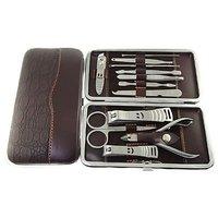 Vanskap 12 Piece Nail Care Personal Manicure & Pedicure Set, Travel & Grooming