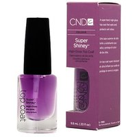 CND Colour Super Shiney .33 Oz High Gloss Nails Shine Top Coat Polish Salon
