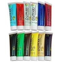 12 Color 3d Multi-surface Nail Art Paint Brush