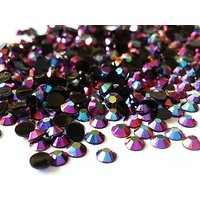 400pc Violet Purple Pink AB Crystal Round Jelly Rhinestone 4mm (16ss) 3D Acrylic