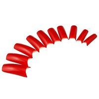 GAO Fashion Hot Sale 500pcs Nail Art Acrylic UV GEL Fake Nail Tips Red