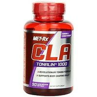 MET-Rx CLA-Tonalin 1000 Diet Supplement Capsules, 90 Count