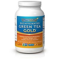 #1 Green Tea Extract - Green Tea GOLD, 500 Mg, 120 Vegetarian Capsules -