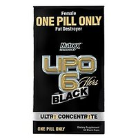 Nutrex Research Lipo 6 Black Hers Ultra Concentrate Diet Supplement Capsules,