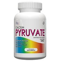 Calcium Pyruvate- All Natural Fat Burning Formula, 1000mg Daily, 120 Capsules,