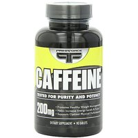 Primaforce Caffeine Tablets  200 Mg,  90 Count Bottle