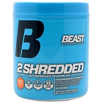 Beast Sports Nutrition 2 Shredded Powder, Orange Mango, 290.25 Gram