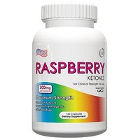 Raspberry Ketones 500mg - Natural Weight Loss Supplements - 500mg Per Capsule