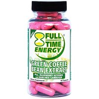 Full-Time Energy Pure Green Coffee Bean Extract Plus Raspberry Ketones And