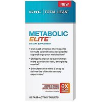 GNC Total Lean METABOLIC ELITE , 60 Fast-Acting Tablets