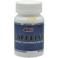 4Ever Fit Caffeine, 200 Milligram, 100 Tablets (Pack Of 6)