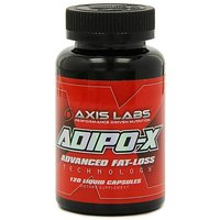 Axis Lab Adipo-X, Liquid Capsules (International Version), 120-Count