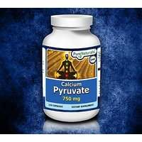 Pure Naturals Calcium Pyruvate, 750 Mg, 120 Capsules