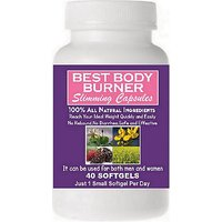 Best Body Burner Slimming Capsules. 100% Natural Weight Loss Pill. 60 Days