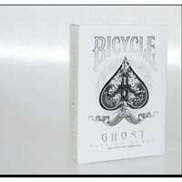 Bicycle White Ghost Playing Cards (WHITE) Deck By Ellusionist From USPCC