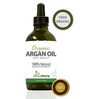 Moroccan Argan Oil - For Hair, Face, Skin, & Nails, Best 100% Pure And Organic