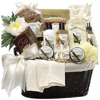Art Of Appreciation Gift Baskets Essence Of Luxury Vanilla Spa Bath And Body Set