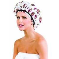Betty Dain Stylish Design Mold Resistant Shower Cap The Hipster Collection