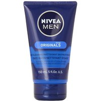 Nivea For Men Face Wash Cleans And Moisturizing With Menthol And Vitamin E 5