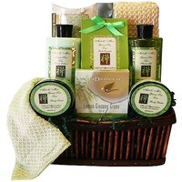 Art Of Appreciation Gift Baskets Green Tea Zen Spa Bath And Body Set