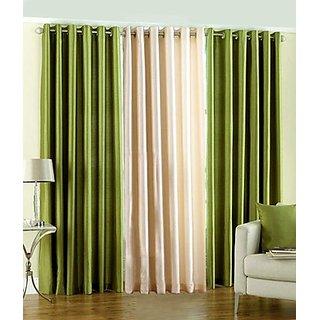 iLiv Plain Eyelet Curtain 7 Feet