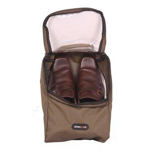 Shoe Bag - Travel Shoe Bags - Case / Pouch - Olive Color - By Bags R Us