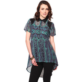 LOVE FROM INDIA  PRINTED LONG TUNIC _buy One Tunic Get One Scraf Free