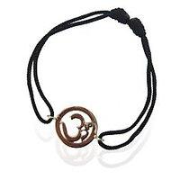 Om Single Diamond Bracelet In Gold