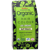 Radico Colour Me Certified Organic Hair Colour-Soft Black