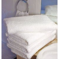 Love For White White Hand Towel Set Of 4