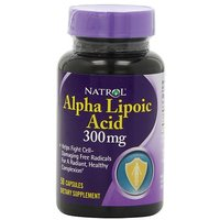 Natrol Alpha Lipoic Acid 300mg Capsules, 50-Count (Pack Of 3)