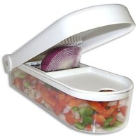 Ganesh Vegetable & Fruit Chopper Cutter With Free Chop Blade & Cleaning Tool