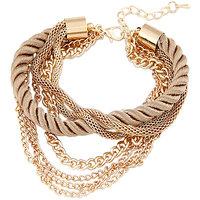 Young & Forever  Multilayer Golden Elegant Bracelet For Women By CrazeeMania