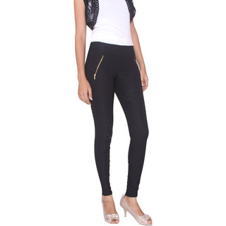 FUNGUS LADIES JEANS - BLK-001
