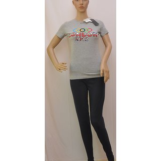"T Shirt Womens Splash Grey Colour Size""XXS"" SKU UCTSL024"