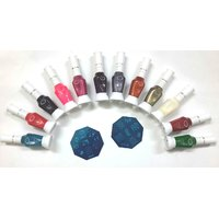 Lesha Nail Art Set-12-pc-Two-Way-Shining-Nail-Art-Nail-Polish-Exclusive-Color