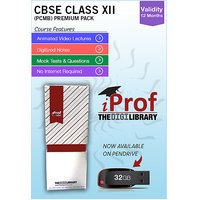 IProf's  CBSE Class 12 PCMB Premium Pack On Pen-Drive [CLONE]