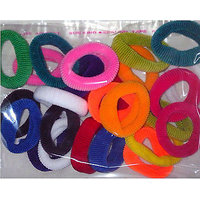 Hair Rubberbands In Different Colors (Pack Of 100 Pieces)