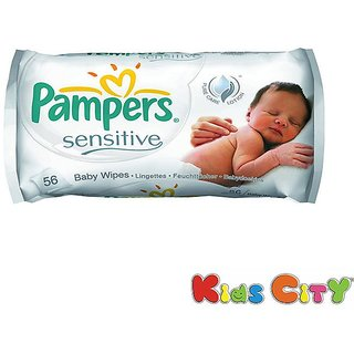 Pampers Wipes 56Pc - Sensitive