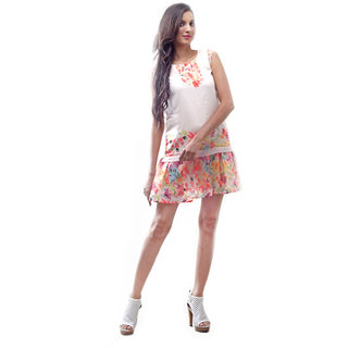 La Divyyu Digital Print Dress