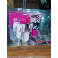 COMBO OFFER - Face It - Lipstick - Hot Pink Lipstick - Sparsh Pink Nail Paint