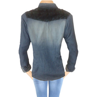 Casual Denim Jacket Long Sleeve