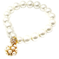 Young & Forever  Cute Bead Ball Pearl Bracelet For Women By CrazeeMania