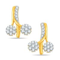 Pure Gold Jewellers In 18kt Yellow Gold With 38pcs Of 0.39cts Diamonds